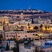 Evening In Jerusalem Poster