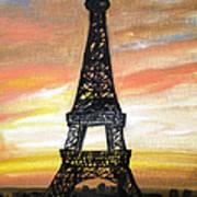 Evening In Paris Poster