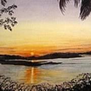 Evening Marsh Poster