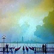 Evening Romance - Venice Poster