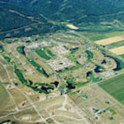 Ever-expanding Driggs, Idaho. Teton Poster
