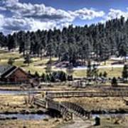 Evergreen Colorado Lakehouse Poster