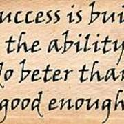 Every Success Poster