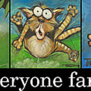 Everyone Farts Poster Poster