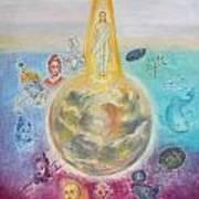 Evolution Of The Spirit In Matter Poster