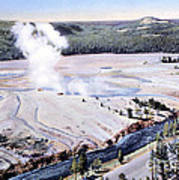 Excelsior Geyser, Yellowstone Np, 20th Poster