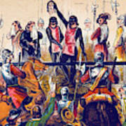 Execution Of Charles I, 1649 Poster