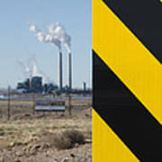 Exit 280 Cholla Power Plant Poster