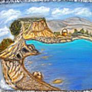 Exotic Beach Near Limassol Poster