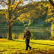 Exploring Autumn Light Poster by Steve Harrington