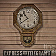 Express And Telegrams Poster