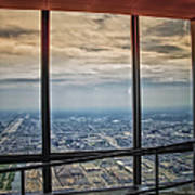 Eyes Down From The 103rd Floor Looking South Poster