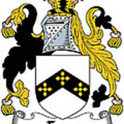 Eyre Coat Of Arms Irish Poster