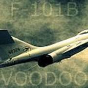 F-101b Voodoo Poster