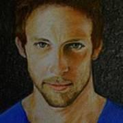 F1 Jenson Button Poster by David Hawkes