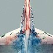 F18 Aerodynamics Poster