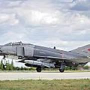 F4e Phantom II  Aircraft Poster