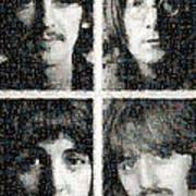 Fab Four Mosaic Image 1 Poster