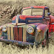Fabulous Ford Poster by Robert Jensen