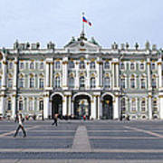Facade Of A Museum, State Hermitage Poster