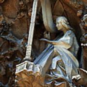 Facade Of Sagrada Familia Poster