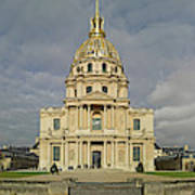 Facade Of The St-louis-des-invalides Poster