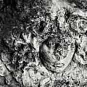 Face Carved In Stone Poster