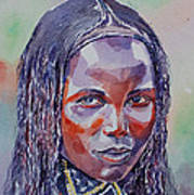 Face From Sudan  1 Poster