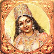 Face Of The Goddess - Lalitha Devi  Poster