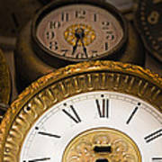 Face Of Time Poster by Tom Gari Gallery-Three-Photography