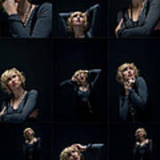 Facial Expression Poster by Ralf Kaiser