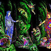 Faery Forest Poster