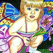 Fairy Child Poster by Judy Moon