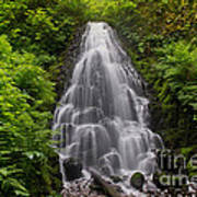 Fairy Falls In Spring Poster