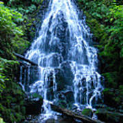 Fairy Falls Oregon Poster