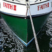 Faith II Fishing Boat Poster