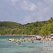 Fajardo Beach In  Puerto Rico Poster