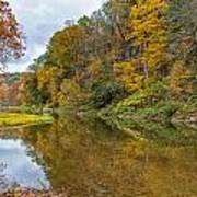Fall At Little Beaver Creek Poster