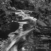 Fall Creek Flow II Poster