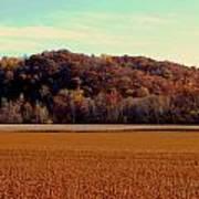 Fall Fields Poster