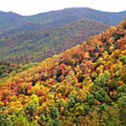 Fall Folage 2 Along The Blueridge Poster