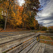 Fall In Mill Creek Park Poster