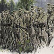Fall In Norfolk Volunteers Poster