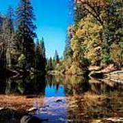 Fall In Yosemite Poster