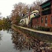 Fall On The Canal Poster