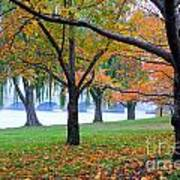 fall on the Potomac River Poster