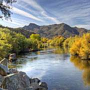 Fall On The Salt River  Poster