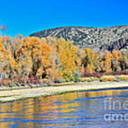 Fall On The Snake River Poster