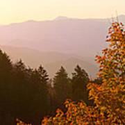 Fall Smoky Mountains Poster