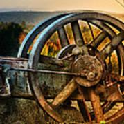 Fall Through The Wheels Poster